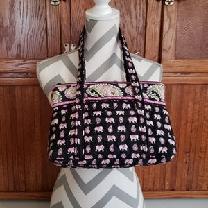 Vera Bradley Pink Elephants bag